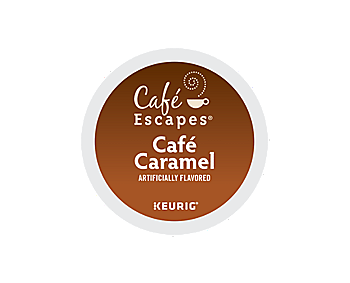 K-Cups - Cafe Escapes Cafe Caramel K-Cups