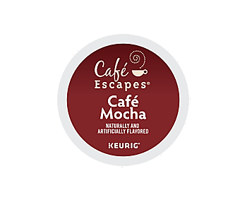 K-Cups - Cafe Escapes Cafe Mocha K-Cups
