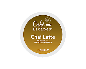 K-Cups - Cafe Escapes Chai Latte K-Cups