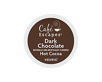 K-Cups - Cafe Escapes Dark Chocolate K-Cups