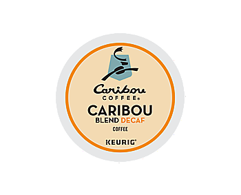 K-Cups - Caribou Natural Decaf Blend K-Cups