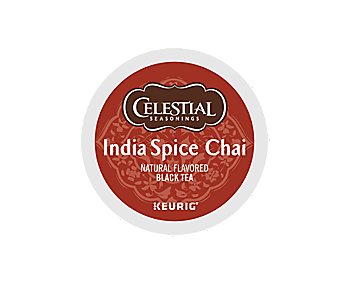 K-Cups - Celestial Seasonings India Spice Chai Tea K-Cups