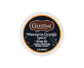 K-Cups - Celestial Seasonings Mandarin Orange Spice Tea K-Cups