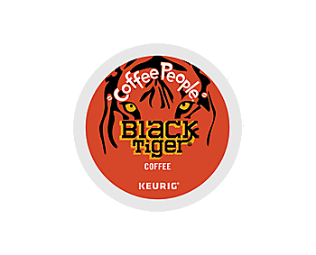 K-Cups - Coffee People Black Tiger Extra Bold K-Cups