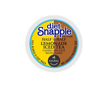 K-Cups - Diet Snapple Half & Half Lemonade Iced Tea K-Cups