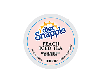 K-Cups - Diet Snapple Peach Iced Tea K-Cups