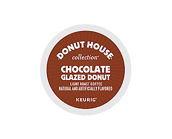K-Cups - Donut House Chocolate Glazed Donut K-Cups