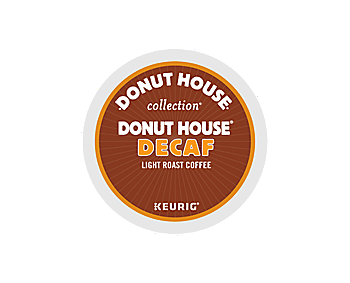 K-Cups - Donut House Decaf Blend K-Cups