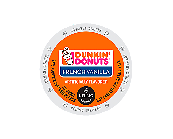 K-Cups - Dunkin' Donuts French Vanilla K-Cups