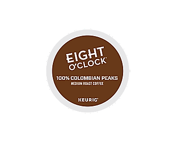 Eight O Clock 100 Colombian Peaks K Cup Pods Tiki Hut