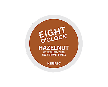 K-Cups - Eight O'Clock Hazelnut K-Cups