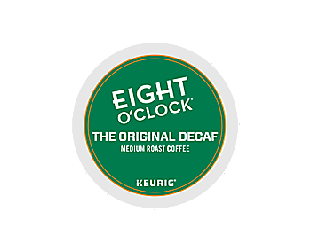 K-Cups - Eight O'Clock Original Decaf K-Cups