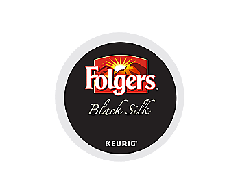 K-Cups - Folgers 12ct Black Silk K-Cups