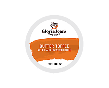 K-Cups - Gloria Jean's Butter Toffee K-Cups