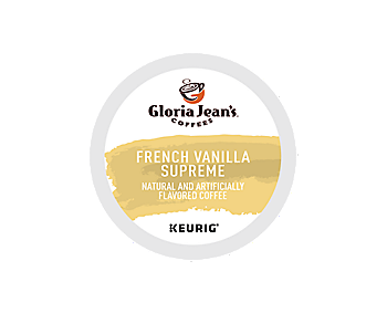 K-Cups - Gloria Jean's French Vanilla Supreme K-Cups
