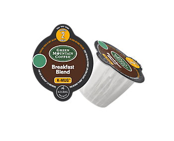 K-Cups - Green Mountain Breakfast Blend K-Mug Pods