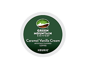 K-Cups - Green Mountain Caramel Vanilla Cream K-Cups