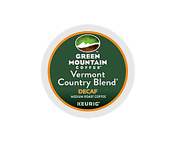 K-Cups - Green Mountain Decaf Vermont Country Blend K-Cups