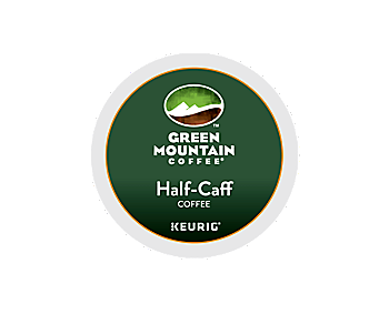 K-Cups - Green Mountain Half-Caff 50% Decaf K-Cups