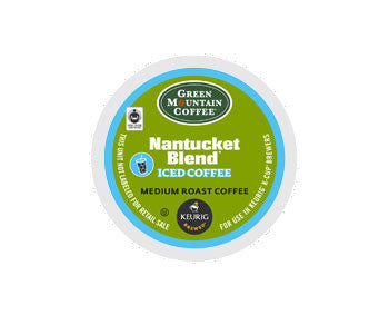 K-Cups - Green Mountain Nantucket Blend Iced Coffee K-Cups
