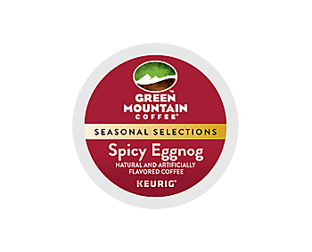 K-Cups - Green Mountain Spicy Eggnog Fair Trade K-Cups