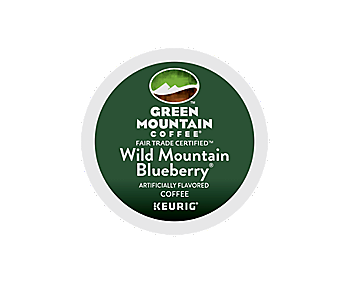 Green Mountain Wild Mountain Blueberry K Cup Pods Tiki