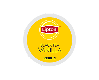 K-Cups - Lipton Black Tea Vanilla Tea K-Cups