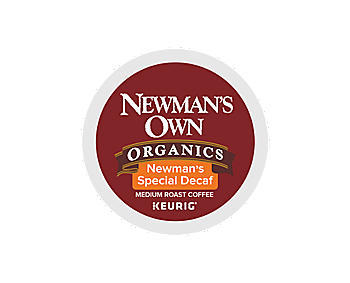 K-Cups - Newman's Own Organics Special Blend Decaf K-Cups