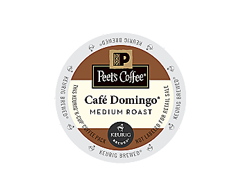 K-Cups - Peet's 16ct Cafe Domingo K-Cups