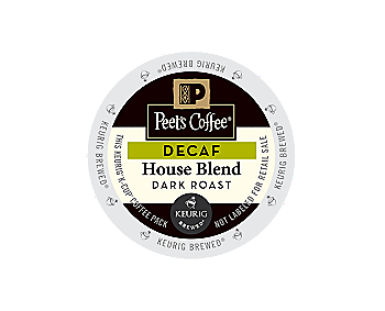 K-Cups - Peet's 16ct Decaf House Blend K-Cups