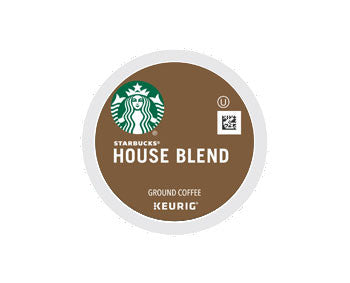 K-Cups - Starbucks 10ct House Blend K-Cups