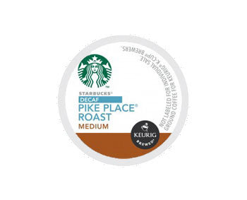 K-Cups - Starbucks 24ct Pike Place Roast Decaf K-Cups