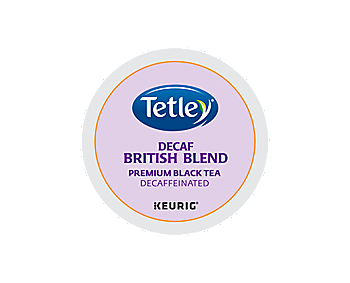 K-Cups - Tetley British Blend Decaf Tea K-Cups