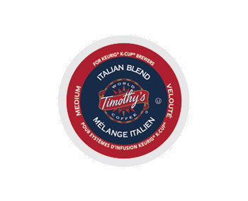 K-Cups - Timothy's Italian Blend K-Cups