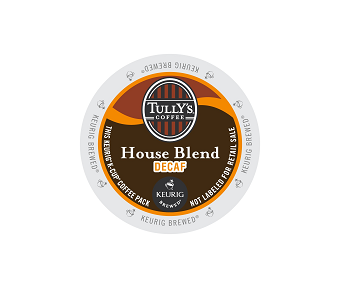 K-Cups - Tully's Decaf House Blend K-Cups