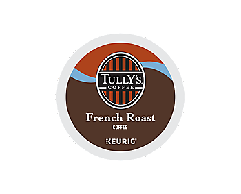 K-Cups - Tully's French Roast Extra Bold K-Cups