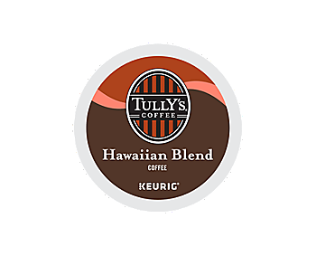 K-Cups - Tully's Hawaiian Blend Extra Bold K-Cups