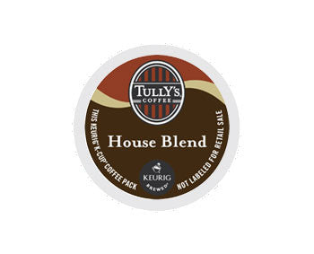 K-Cups - Tully's House Blend Extra Bold K-Cups