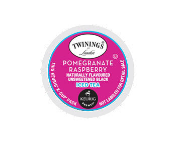 K-Cups - Twinings 12ct Pomegranate Raspberry Iced Tea K-Cups