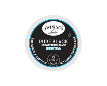 K-Cups - Twinings 12ct Pure Black Iced Tea K-Cups