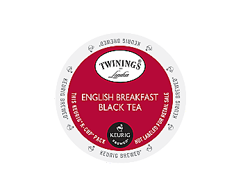 K-Cups - Twinings English Breakfast Tea K-Cups
