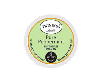 K-Cups - Twinings Pure Peppermint Tea K-Cups