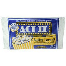Pantry Supplies - Act II Butter Lovers Popcorn