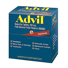 Pantry Supplies - Advil Tablets