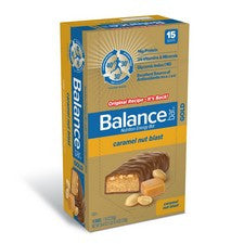 Pantry Supplies - Balance Bar Caramel Nut Blast