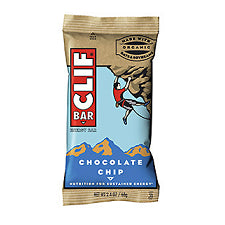 Pantry Supplies - Clif Bar Chocolate Chip