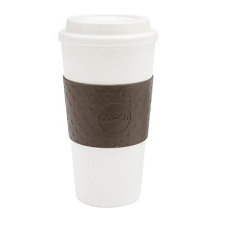 Pantry Supplies - Copco Acadia 16oz On-The-Go Brown Hot Beverage Mug
