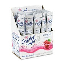 Pantry Supplies - Crystal Light Raspberry Tea On The Go Sticks