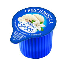 Pantry Supplies - International Delight French Vanilla Single-Serve Creamers