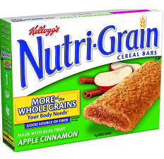 Pantry Supplies - Kelloggs Apple Nutri-Grain Bars